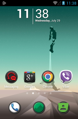 android theme 'MattX'