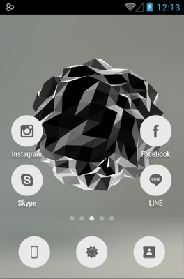 android theme 'FlatCons'