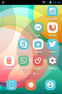 Ainokea android theme application menu