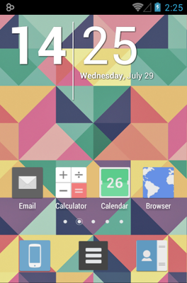 android theme 'Jive'