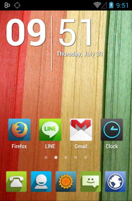 android theme 'UP'