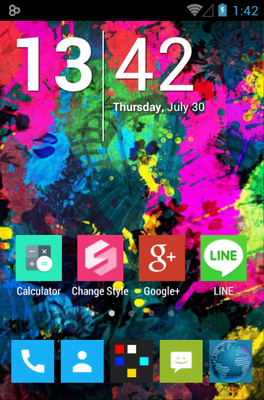 android theme '255 Square Lite'
