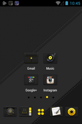 android theme 'Luminous'