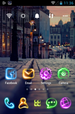 android theme 'Tonight'