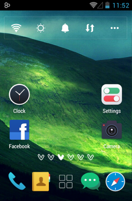 android theme 'Filter'