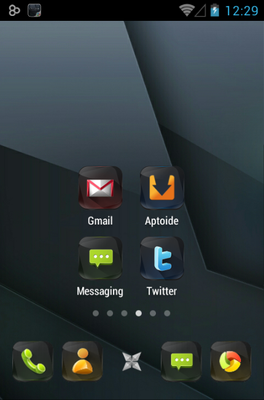 android theme 'Obsidian'