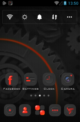 android theme 'Dark Energy'