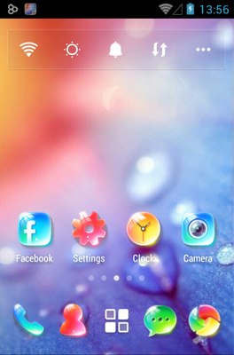 android theme 'Crystal'