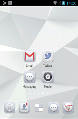 android theme 'Pure'