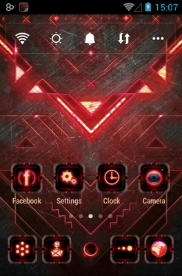android theme 'Dark Forge'