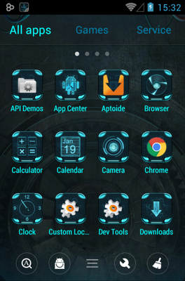 Technology android theme application menu