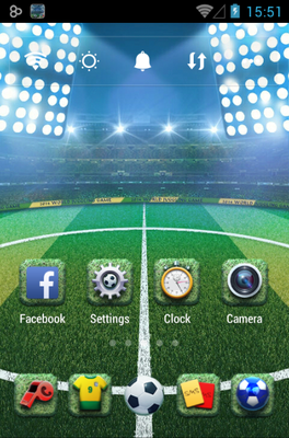 Kick Off android theme