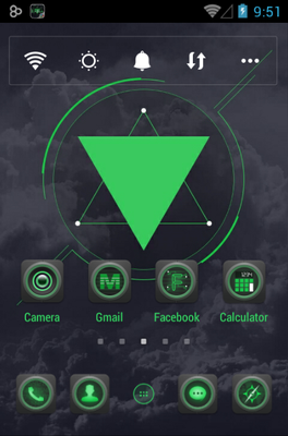 Blackish android theme