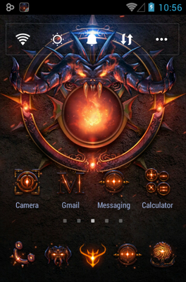 android theme 'Darkon II'