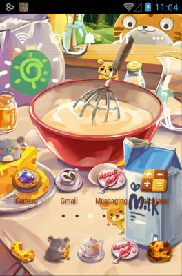 android theme 'Cats & Mice'