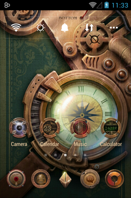 android theme 'Steam Age'