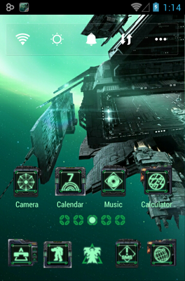 Space Mission android theme