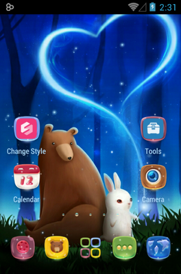 Bearabbit android theme