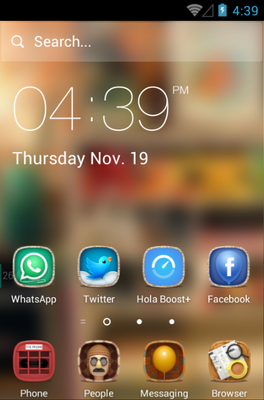 Hello 2015 android theme