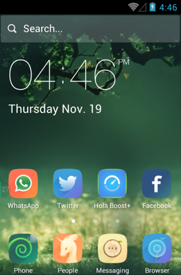 android theme 'Wilderness'