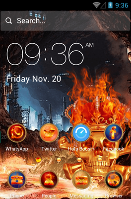Skeletons android theme