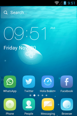 android theme 'Chromatic'
