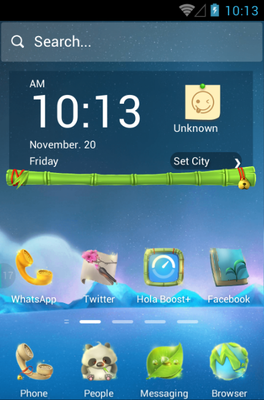 android theme 'Looking For a Dream'