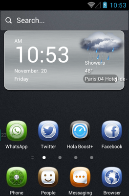 android theme 'Business'