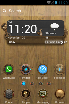 android theme 'Steam Punk'