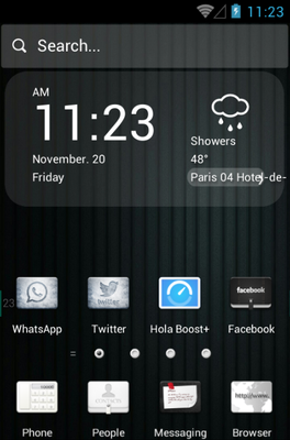 android theme 'Before Color'