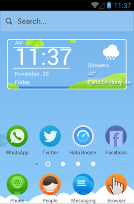 android theme 'Picnic'