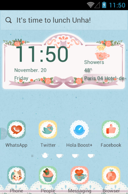 android theme 'Afternoon Tea'