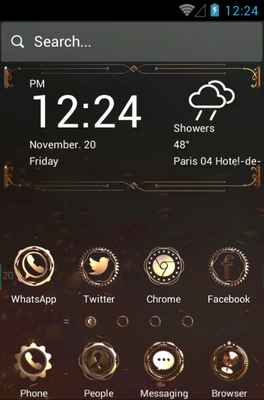 Mechanical android theme