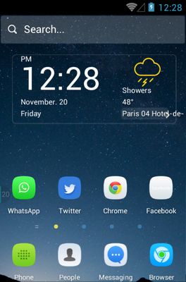 android theme 'Silent'