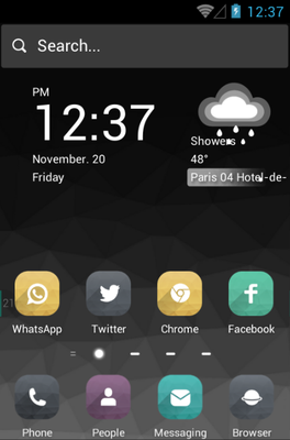 android theme 'Grey'