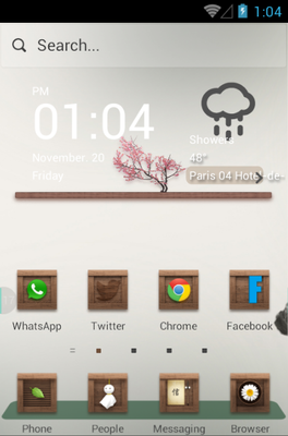 android theme 'Remember'