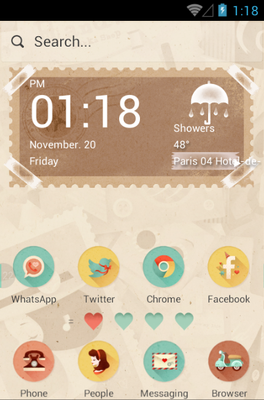 android theme 'She&He'