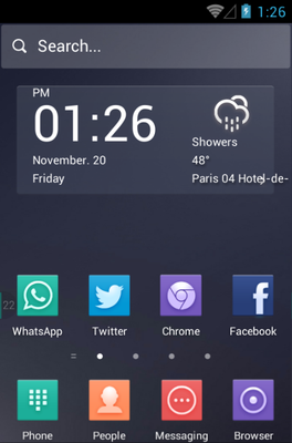 android theme 'The Night'