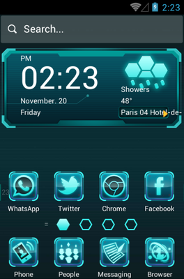 android theme 'Future Tech'