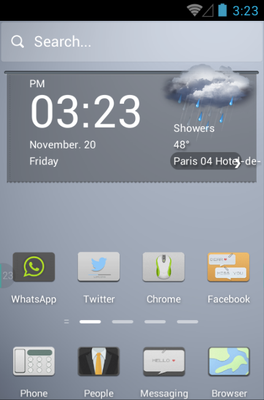 Pale Style android theme