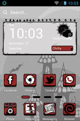Cartoon Android Themes | androidlooks com