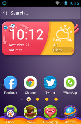 Monster Zoo android theme