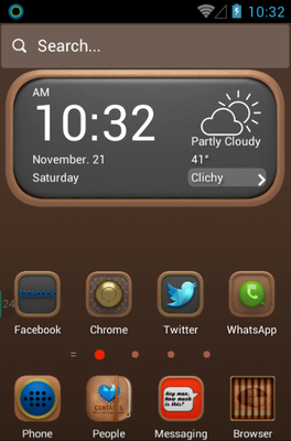 android theme 'Luxury'