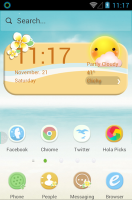 Maldives android theme