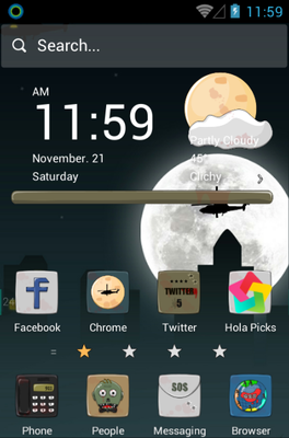 Zombie android theme