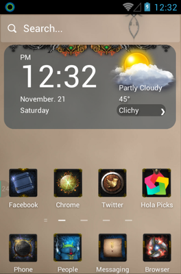 android theme 'Knight Legend'