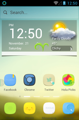 android theme 'Morning Light'