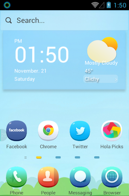android theme 'Fairy Tale'