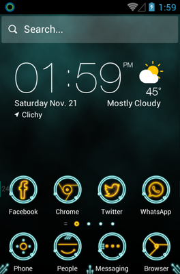 android theme 'Circuit'