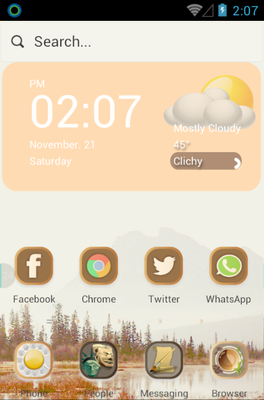 android theme 'Fusion China'